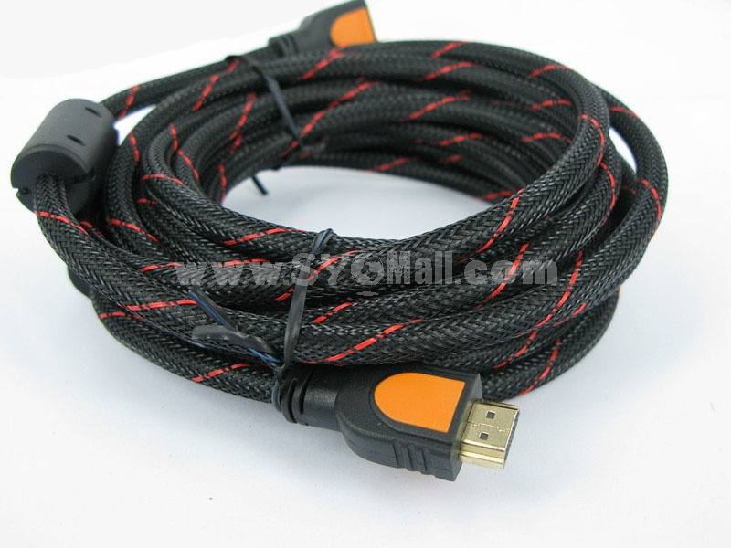 YELLOW KNIFE 1.3 High-Speed HDMI to HDMI Cable 6.6 Ft