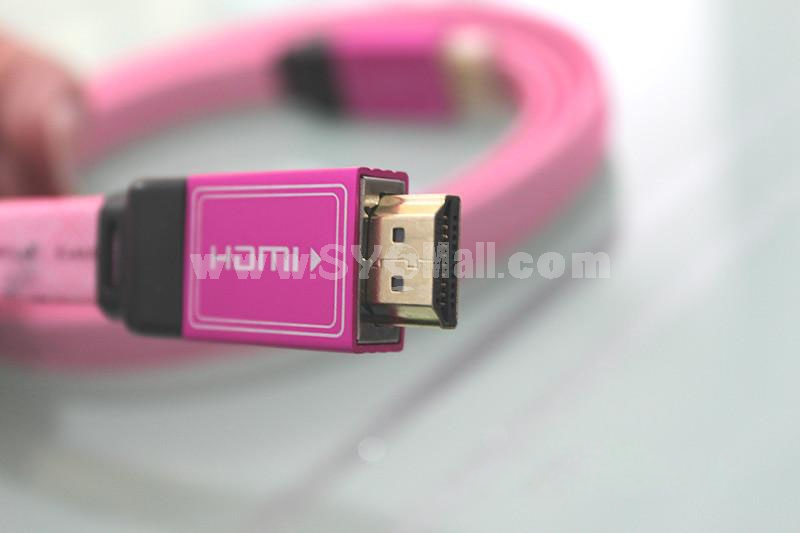 YELLOW KNIFE 1.4 High-Speed HDMI Cable Supports Ethernet/3D/Audio Return 6 Ft