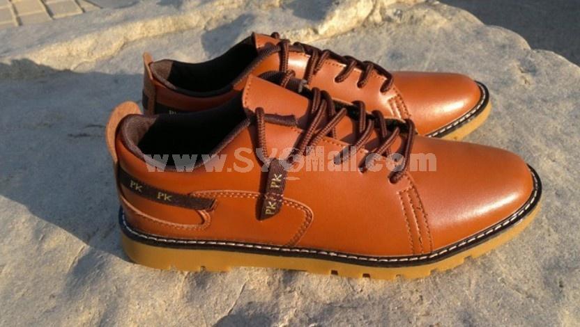 GOUNIAI Men's Classic European Vintage Style Casual Shoes