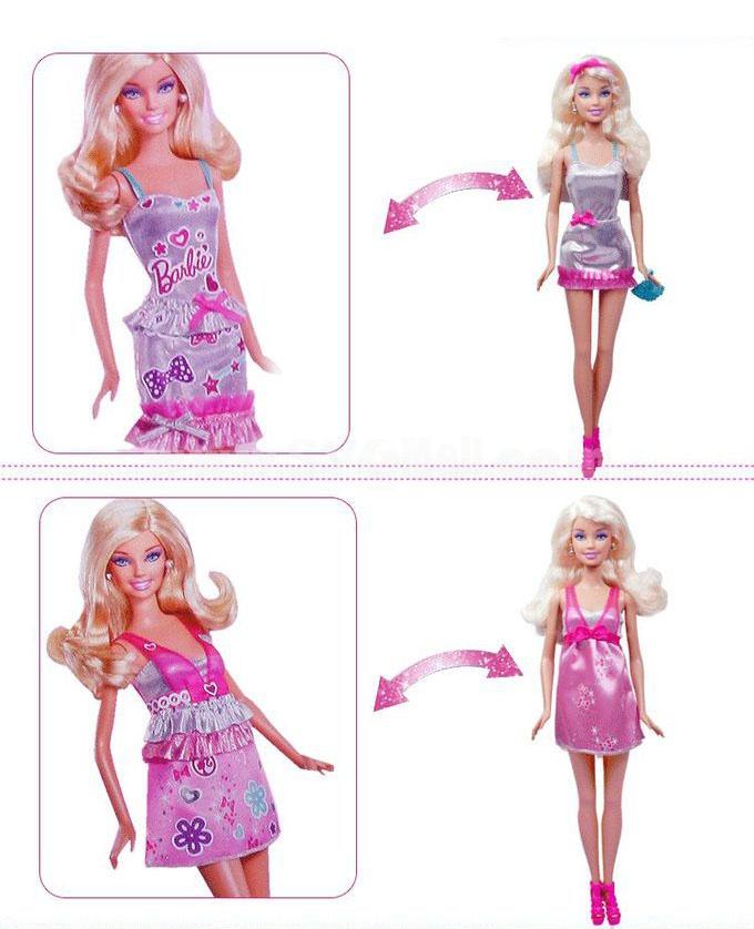 X6991 Barbie Charming Stylish Cloth Set