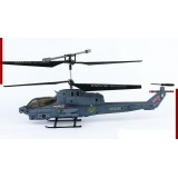 Wholesale - 22cm Infrared (IR) Remote Control (RC) Mini Marines Cobra Helicopter with GYRO Stability
