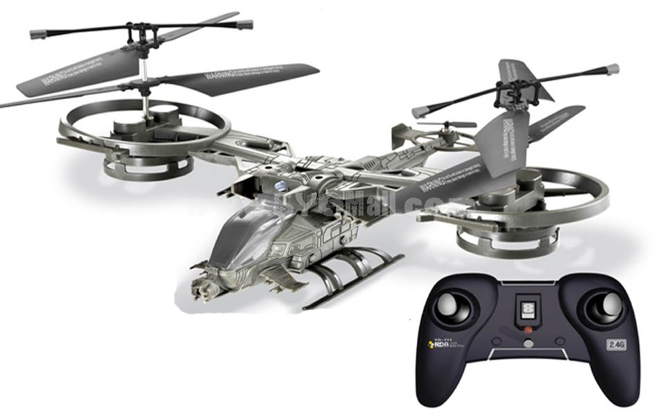 YZD-711 2.4G 25CM 4CH RC Remote Alloy Helicopter