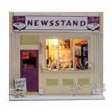 Wholesale - Wooden DIY Handmade Self-Assemble Dollhouse Mini House 13510 - NEWSSTAND