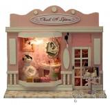Wholesale - Wooden DIY Handmade Self-Assemble Dollhouse Mini House 13501