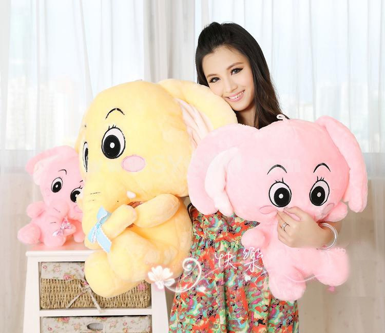 "Cartoon Elephant Style 30cm/12"" PP Cotton Stuffed Toys"