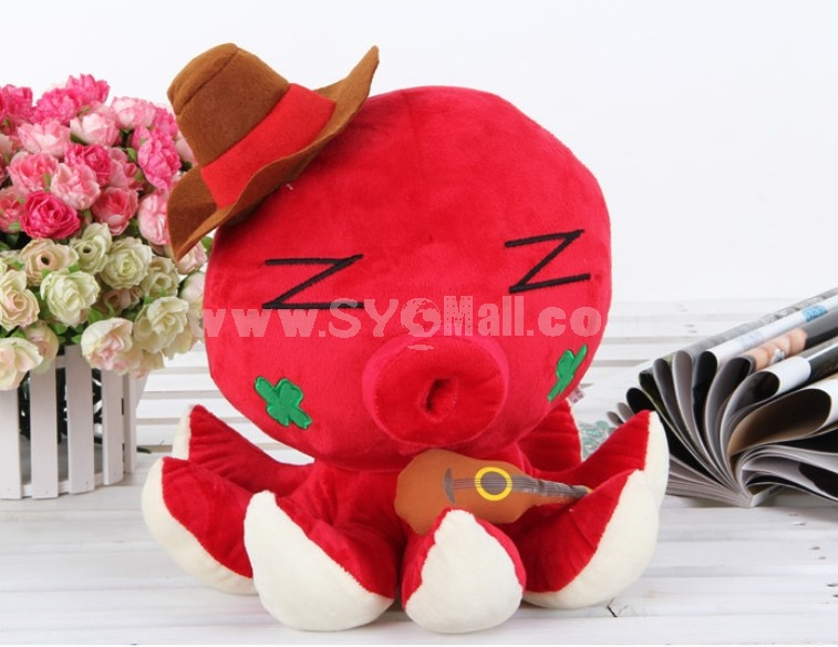 "Octopus Pattern 20cm/8"" PP Cotton Stuffed Toys"