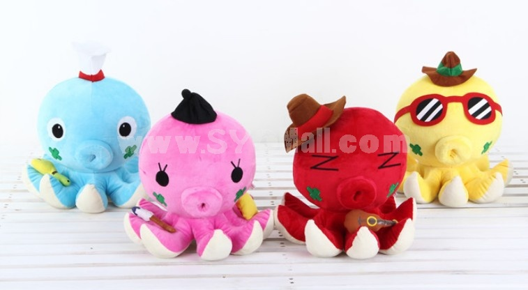 "Octopus Pattern 40cm/16"" PP Cotton Stuffed Toys"
