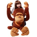 "Wholesale - Cartoon Monke  90cm/35"" PP Cotton Stuffed Animal Plush Toy"