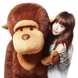 "Wholesale - Cartoon Monkey 110cm/43"" PP Cotton Stuffed Animal Plush Toy"
