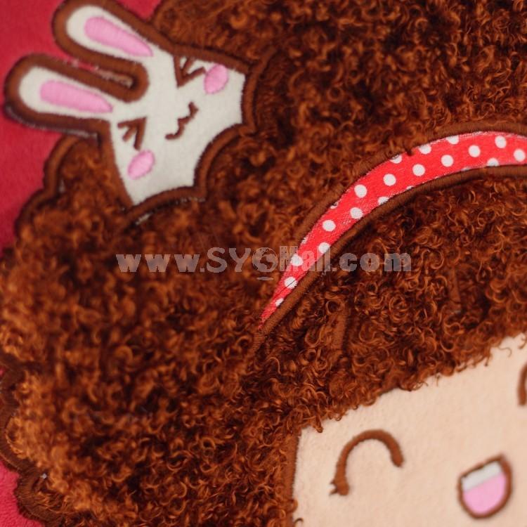 "Cartoon Mocmoc 35cm/14"" PP Cotton Stuffed Toys One Pair"