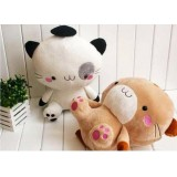 "Wholesale - Cartoon Couple Cat 40cm/16"" PP Cotton Stuffed Animal Plush Toy - One Pair"