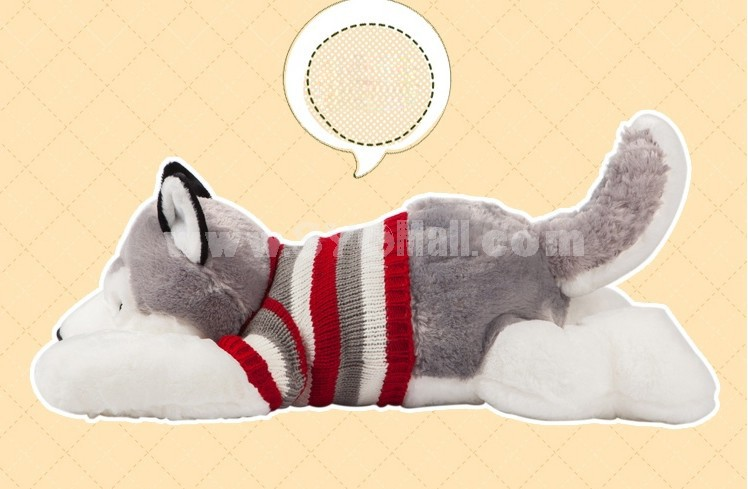"Cute Huskie Pattern 50cm/20"" PP Cotton Stuffed Toys"