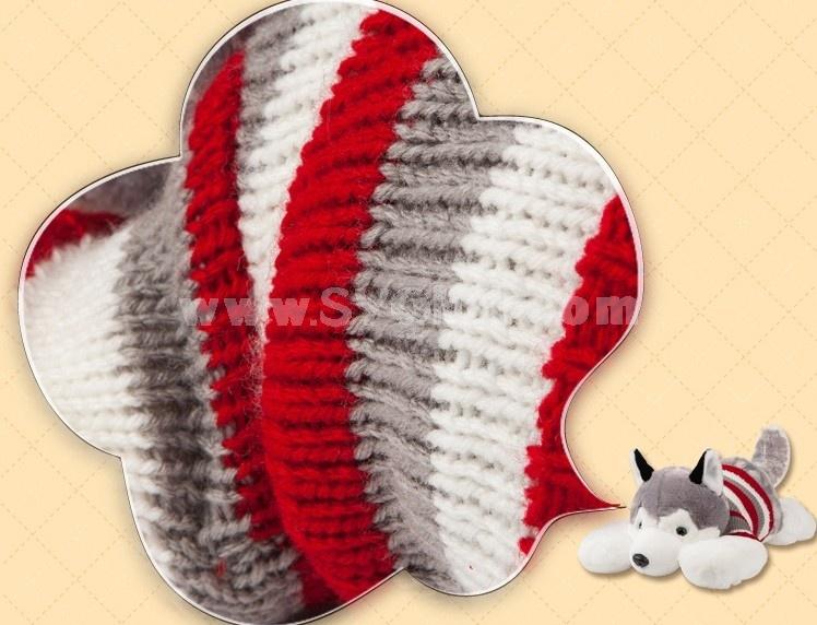 "Cute Huskie Pattern 100cm/39"" PP Cotton Stuffed Toys"