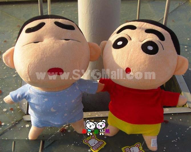 """Crayon Shin-chan 35cm/14"""" PP Cotton Stuffed Toys Blue"""