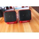 Wholesale - BTY Mini USB Rotatable Stereo Laptop Speaker