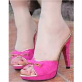 Wholesale - Stilette Heel Peep Toe Sandals/Slippers