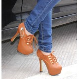 Wholesale - Leatherette Stilette Heel Sandals