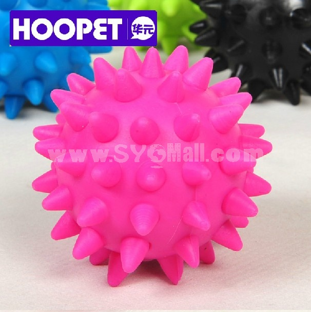 HOOPET Safe Elastic Bubber Food Strorage Ball Pet Chewing Toy