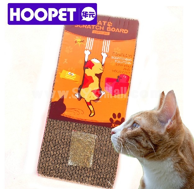 HOOPET Environmental Protection Honeycomb Paper Scratching Pad for Cat