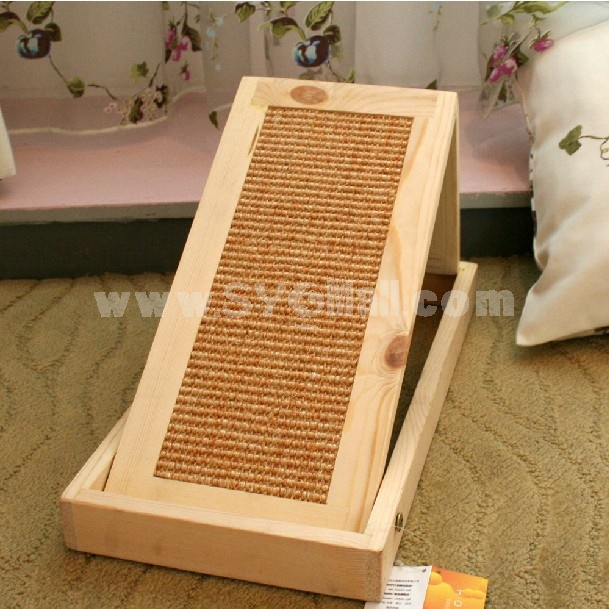 HOOPET Foldable Sisal Scratching Pad for Cat