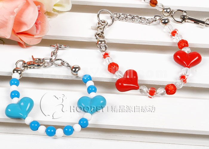 Colorful Beads Leash for Small Dogs 25kg Tension