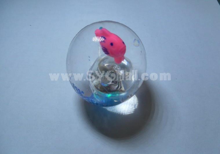 Shine Elastic Rubber Thorn Ball Creative Toy