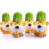 Wholesale - Vogue Horticulture DIY Mini Green Plant Tiger Ceramic Stand Pattern Plant