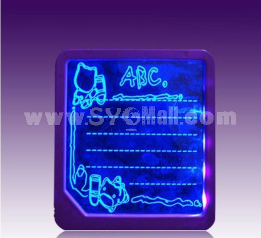 8 Color LED Message Board Write Board 1mm LED