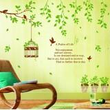 Wholesale - LEMON TREE Removable Wall Stickers Sweet Garden 59*35 in