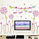Wholesale - LEMON TREE Removable Wall Stickers Ball Flower Tree with Photo Board 70*79 in