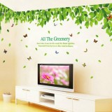 Wholesale - LEMON TREE Removable Wall Stickers Ultra Large Fresh Leaves 126*39 in