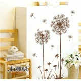 Wholesale - LEMON TREE Removable Wall Stickers Pastoral Dandelion 47*59 in