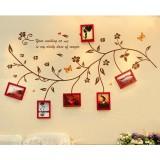 Wholesale - LEMON TREE Creative Wall Photo Frame wih Tree Branches Stickers 6 pcs Set
