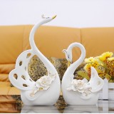 Wholesale - Creative Ceramic Swan Shaped Craft for Home Decoration