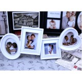 Wholesale - Modern Simple Style Heart Shaped 4 Combo Photo Frame