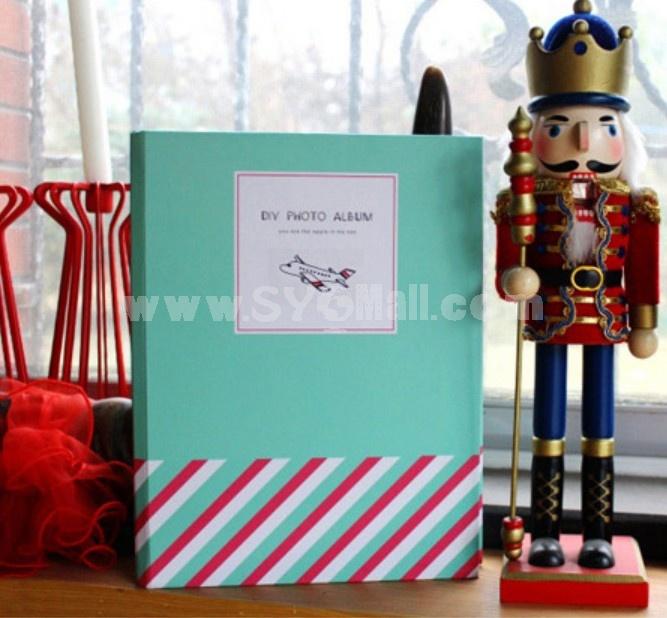 Creative DIY Stick-On Photo Album - Blue Sky