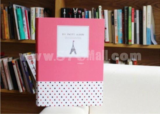 Creative DIY Stick-On Photo Album - Romantic Tower