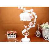 Wholesale - Garden Flowers Metal Table Lamp