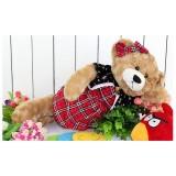 Wholesale - Quality Stuffed Animal Plush Toy - Plaid Shirt Teddy