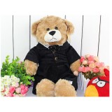 Wholesale - Quality Stuffed Animal Plush Toy - Black Coat Teddy
