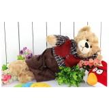 Wholesale - Quality Stuffed Animal Plush Toy - Red Coat Teddy