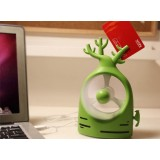 Wholesale - FIVE FAN Creative Tree Shaped USB Battery Dual Use Mini Fan