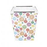Wholesale - Colorful Lollipops Foladable Storage Barrel