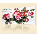 Wholesale - Chinese Style Home-super 3pcs 15mm Ply Waterproof Wall Frameless Mural Painting Each Size 40*60cm