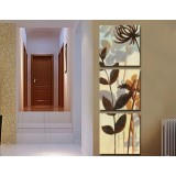 Wholesale - Modern Simple Style Home-super 3pcs 15mm Ply Waterproof Wall Frameless Mural Painting Each Size 30*30cm