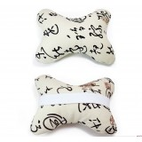 Wholesale - Cooling, Odor Absorbant, Air Freshening 120g Bamboo Charcoal Chinese Style Neck Pillow