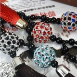 Wholesale - Gorgeous Hanging Crystal Ball Car Talisman/Pendant/Decoration