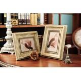 "Wholesale - European Style Wooden Photo Frame Pattern Family Artware 6"""