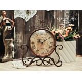 "Wholesale - European Vintage Style Clock Pattern Family Artware 6"""