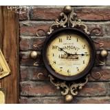 Wholesale - Vintage Iron Clock Pattern Family Artware